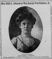 Edith Johnson Worthington - Newspapers.com