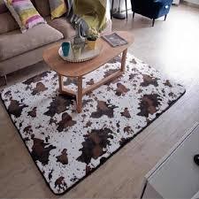 Cowhide Rug Zebra Flower Slip Resistant Rug For Living Room Area Carpets For Kids Bedroom 7 Pattern Rectangle Shape Animal Mat Rugs Zebra Cowhide Rugrug For Living Room Aliexpress