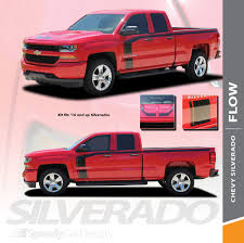 Chevy Silverado Special Vinyl Graphics 3m Flow 2016 2017 2018 Premium And Supreme Install Speedycardecals Fast Car Decals Auto Decals Auto Stripes Vehicle Specific Graphics