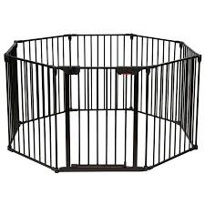 Costway 8 Panel Baby Safe Metal Gate Play Yard Pet Fence Adjustable Walmart Canada