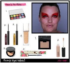 diy phoenix makeup for