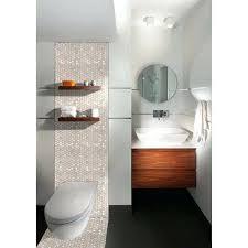 enchanting gray mosaic bathroom mirror