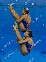 US Silver medalists Abigail Johnston front Kelci Editorial Stock Photo -  Stock Image | Shutterstock