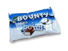 minis bounty chocolate bar 8x pack