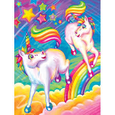 Brushstroke Unicorns Poster Wall Art By Lisa Frank Walmart Com Walmart Com