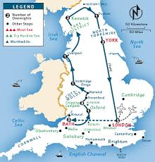 england itinerary where to go in