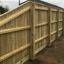 Bevelled Fence Rails Wooden Rails Pressure Treated Free Delivery Available