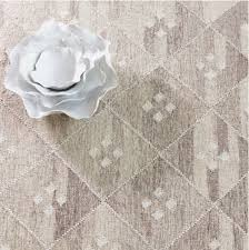 kota natural woven wool rug by dash and