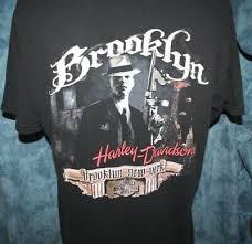harley davidson t shirt brooklyn new