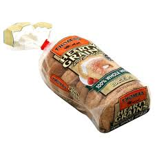 thomas hearty grains bagels 100 whole