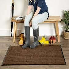 front door mat non slip indoor outdoor