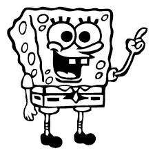 Spongebob Square Pants Black 6 Car Truck Vinyl Decal Art Wall Sticker Usa Kids Fun Nick Niftywarehouse Com Nift Wall Stickers Usa Spongebob Square Spongebob