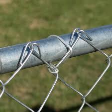 Sonstige Chain Link Fence Wire Ties For Fence Pipe Post Rail Aluminum Hook Ties Garten Terrasse