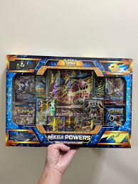 Pokemon Mega power lucario box card set, Toys & Games, Board Games & Cards  on Carousell