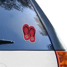 Ohio State Buckeyes 5 X 7 Flip Flop Decal Fanatics Family Car Decals Indianapolis Colts Window Clings