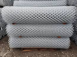 9 Ga X 2 Galvanized Chain Link Fabric Chain Link Fenceing