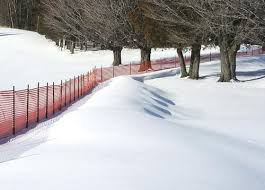 4 Snow Safety Fence At Menards