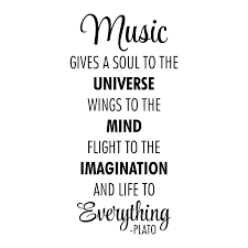 Music Is Life To Everything Wall Quotes Decal Wallquotes Com