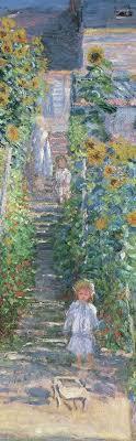 the artist s garden at vétheuil bookmark