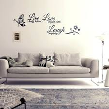 Live Laugh Love Family Home Quote Wall Stickers Art Room Removable Decals Diy N7 For Sale Online