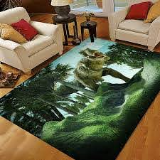Amazon Com Alaza 3d Dinosaur Rugs For Boys Bedroom Kids Rugs For Bedroom Boys 5x7 Home Kitchen