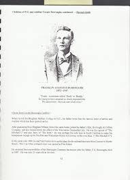 Franklin Augustus Burroughs (1872 - 1947) - Genealogy