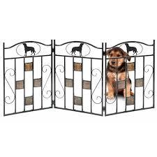 Pet Gate Freestanding Dog Safety Gate Folding Z Shape Indoor Doorway Hall Stairs Puppy Gate Walmart Com Walmart Com