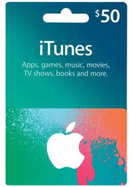 apple itunes gift card 50 u s account