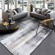 chinese ink painting carpet dark grey