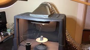 diy fume hood paint booth you