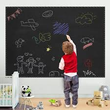 2020 45x200cm Removable Blackboard Vinyl Draw Decor Mural Decals Art Chalkboard Wall Sticker For Children Kids Rooms Chalk Board Stickers From Newohvision 5 65 Dhgate Com
