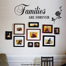 Families Are Forever Inspirational Quote Removable Wall Decal