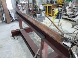 diy sheet metal bending brake part 2