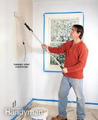 how to skim coat walls the family