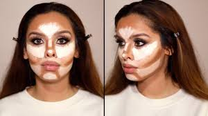 how to contour highlight your face