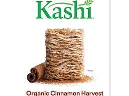 kashi organic cereal cinnamon harvest