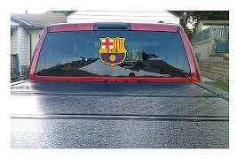 Buy Large Fc Barcelona Decal Truck Suv Window Vinyl Sticker 12 In Cheap Price On Alibaba Com