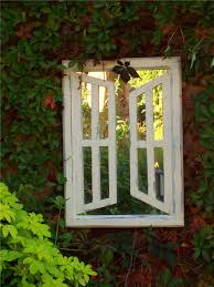 illusion garden mirrors double opening