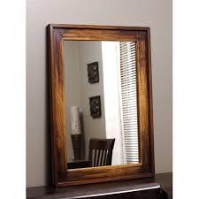 sheesham wood mirror frame लकड क