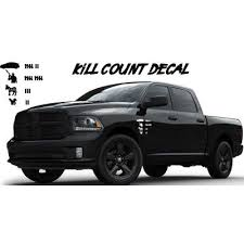 Kill Count Vehicle Decal