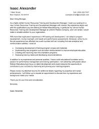development cover letter exles
