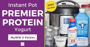 premier protein yogurt recipe