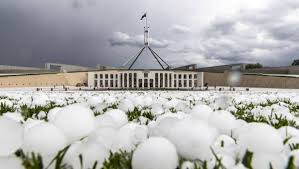 Photos of the hailstorm that tore ...