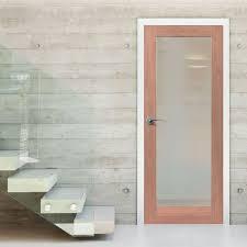 p10 mahogany full pane door safety