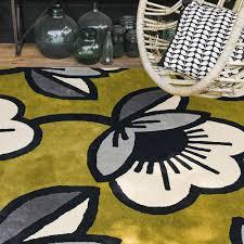 orla kiely passion flower rug