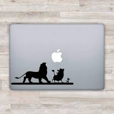 Amazon Com Disney Macbook Decal Disney Macbook Sticker Lion King Laptop Decal Simba Laptop Sticker 1 Computers Accessories