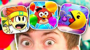 3 UNRELEASED iPHONE GAMES (Angry Birds Blast, Dan The Man, Pac-Man ...