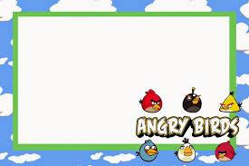 Actividades Angry Birds Buscar Con Google Invitaciones De