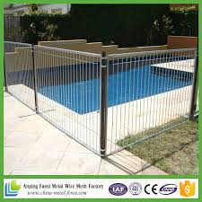 China High Quality And Safety Perimeter Temporary Pool Fence For Sale China High Quality Temporary Pool Fence Safety Perimeter Temporary Pool Fece