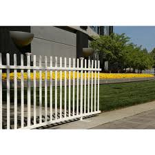 Zippity Outdoor Products 3 5 Ft X 7 6 Ft White Vinyl Lightweight Portable Picket Fence Panel Zp19026 The Home Depot